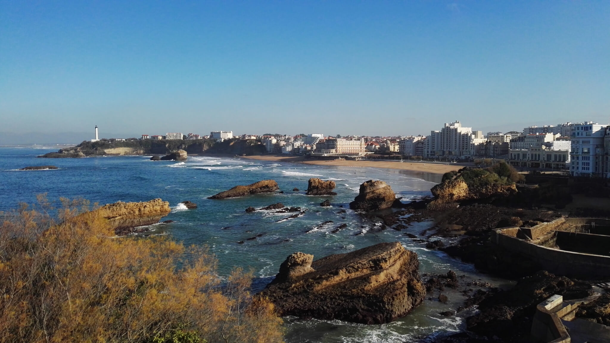 Biarritz's Atalaye plateau, another great viewspot