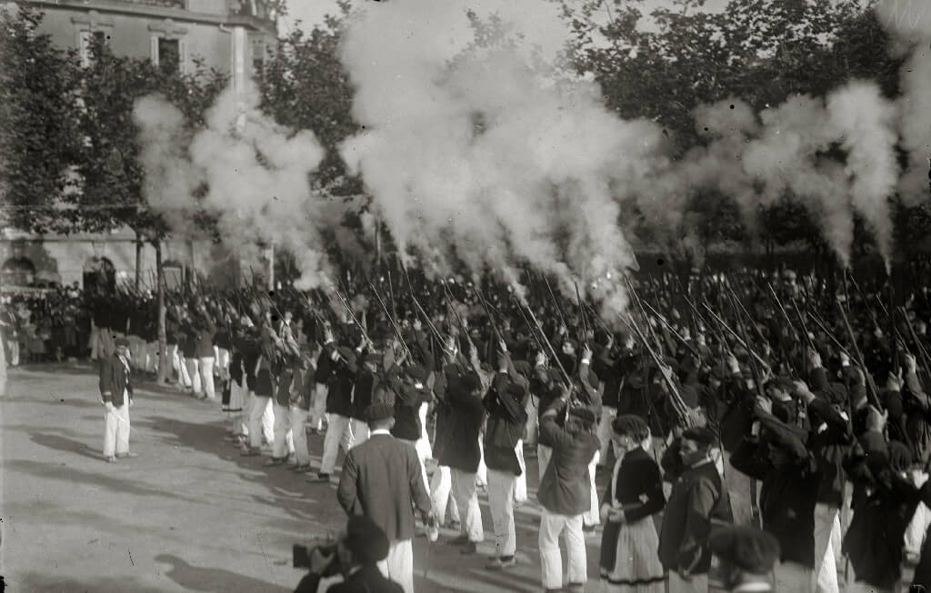 Old celebrations of San Marcial in Irun early 20s