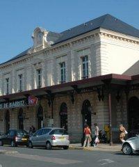 Biarritz-La Négresse train station