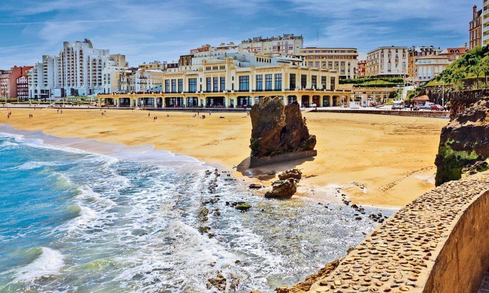 Biarritz heading Casino and central beach