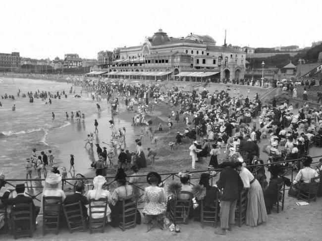 Biarritz 1910 by the International Herald Tribune